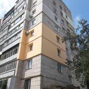 Exterior insulation of apartment facades, Rivne