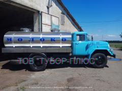 Production of tankers, milk carriers, water carriers, fish carriers