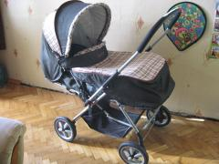 Universal stroller Geoby with reversible handle